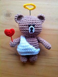 Cafe Con Lana: rosas crochet y san valentin amigurumi