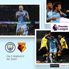 City 2 Watford 0 match action pics #mcfc #manchester