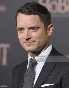 Actor Elijah Wood arrives at the Los Angeles Premiere 'The Hobbit: The Battle Of The Five Armies' at Dolby Theatre on December 9, 2014 in Hollywood, California.