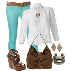 CAbi Mint by terribruce on Polyvore