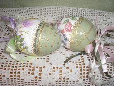 decoupage easter eggs Stella ντεκουπάζ αυγά