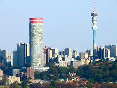 Hillbrow and Berea viewed from the top Langeman's Kop, Kensington, Johannesburg News South Africa, Slums, Built Environment, Urban Planning, Willis Tower, Aerial View, Seattle Skyline, Urban Decay