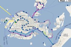 Vaporetto Map: Routes, Lines, and Stops