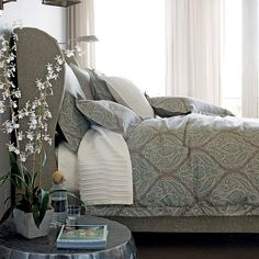 The Company Store Legends Monaco Comforter Cover and Shams bedding
