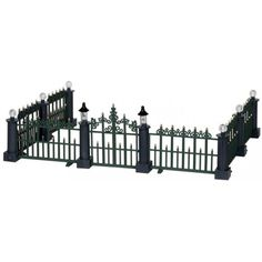 Classic Victorian Fence