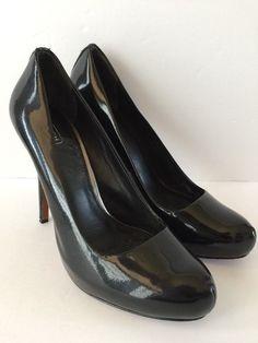 64bb4c287 COACH BLACK Patent Leather Size 10 KRISTINA Pumps  225  Coach   PumpsClassics  Fashion Black