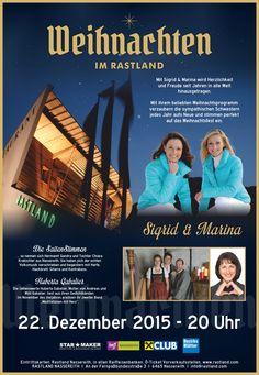 #Sigrid&Marina, #HubertaGabalier, #DieSaitenStimmen, #Weihnachten, #Rastland, #Nassereith Movies, Movie Posters, Glee, Sisters, Musik, Christmas, Films, Film Poster, Cinema