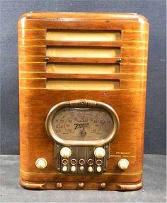 Zenith 5-R-327 Tombstone (1939)