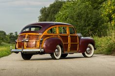 """1941 Town & Country """"barrel back"""""""