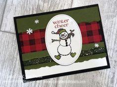Spirited Snowman - Buffalo Check