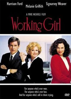 """""""Working Girl"""" Melanie Griffith, Sigourney Weaver, Harrison Ford - 1980's Classic!"""