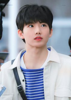 Im Going Crazy, Blue And White Shirt, Baby Koala, Treasure Planet, Boy Images, Fandom, Kpop, Airport Style, Airport Fashion