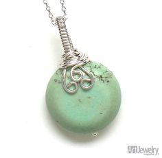 jewelry making ideas | Jewelry Making Ideas / Project: Wrap a Quick Elegant Wire Bail - Art ...