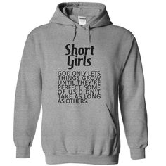 Short Girls T-Shirts, Hoodies. BUY IT NOW ==► https://www.sunfrog.com/LifeStyle/Short-Girls-SportsGrey-Hoodie.html?id=41382