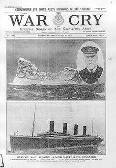 Mit der Titanic verbindet die Heilsarmee zahlreiche Geschichten. Unter den Überlebenden befanden sich etwa die Heilsarmee-Soldatinnen Rose Abbott und Elizabeth Nye. Abbott war die einzige Frau, die aus dem eiskalten Wasser gerettet werden konnte. In New York kümmerten sich dann Heilsarmee-Mitarbeiter um Überlebende des Unglücks, bei Ankunft der 705 geretteten Passagiere. Außerdem wurde die Geige, auf welcher der Chef des Titanic-Orchesters bis zum Untergang spielte, der Heilsarmee gespendet.