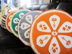 lovely pillows for the spring to come