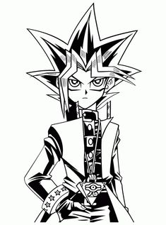 Fine Coloring Page Yu Gi Oh that you must know, You?re in good company if you?re looking for Coloring Page Yu Gi Oh Cartoon Coloring Pages, Coloring Pages To Print, Printable Coloring Pages, Coloring For Kids, Coloring Sheets, Coloring Pages For Kids, Coloring Books, Yugioh Tattoo, Yugioh Yami