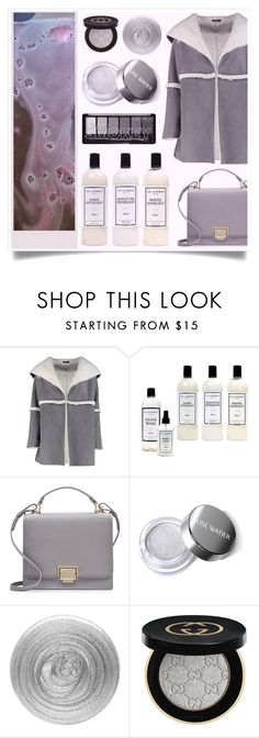 """""""Cut Down"""" by racanoki ❤ liked on Polyvore featuring Boohoo, Frontgate, Smythson, Nails Inc., Gucci and RaCaNoKi"""