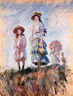 Claude Monet (1840-1926) Promenade (Esquisse)