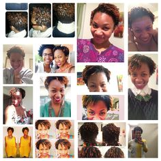 Sisterlocks 12 months of Growth! #sisterlocks #growth #shortlocks