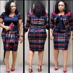 2019 African Dashiki Best selling Autumn and winter new plaid stitching dress small suit jacket African women's two-piece suit African Dresses For Women, African Fashion Dresses, African Women, Corsage, Maxi Dress With Sleeves, Short Sleeve Dresses, Cropped Linen Trousers, Stitching Dresses, African Dashiki