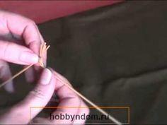 Плетение из соломы Лист из 5 соломин.mp4