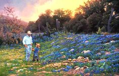 Come On, Dad - June Dudley Fine Art Paintings and Prints