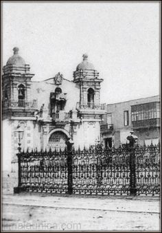 Iglesia de la Caridad (destruida para la construccion del Congreso de la Republica)