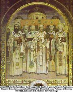 Santi Basilio Magno e Gregorio  Nazianzeno