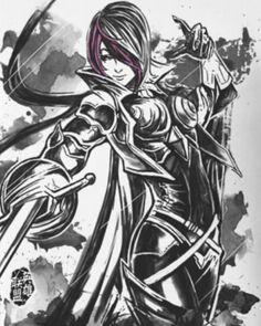 unique League of Legends t shirts personalized ink hero Fiora-