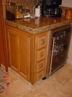 Wine Fridge Cabinet