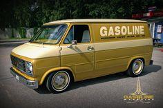 Gasoline Magazine's Van
