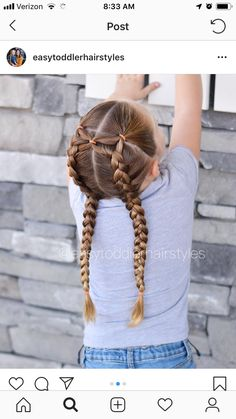 natural braided hairstyles for black women Cute Toddler Hairstyles, Easy Little Girl Hairstyles, Girls Hairdos, Cute Little Girl Hairstyles, Cute Girls Hairstyles, Kids Braided Hairstyles, Princess Hairstyles, Pretty Hairstyles, Teenage Hairstyles
