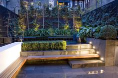 Garden Design in London by The Garden Builders, landscape design Small City Garden, Side Garden, Small Gardens, Dream Garden, Home And Garden, Garden Floor, Garden Paving, Contemporary Garden Design, Landscape Design