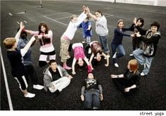 Street Yoga: Hope and Healing to Homeless Youth - That's Fit     AdZimple.com Please go to Not for Profit