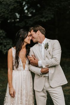 We fell head over heels in love with this enchanting New England wedding Wedding Vows, Wedding Groom, Wedding Attire, Wedding Bells, Boho Wedding, Bride Groom, Dream Wedding, Wedding Dresses, Tan Suits For Wedding