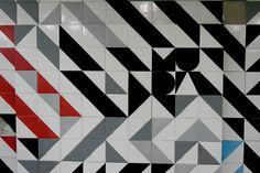 #muda, #black, #white, #tiles