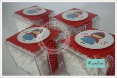 caixinhas de acrilico com mini chicletes