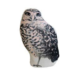 Organic Cotton Owl Pillow