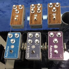 New pedals from Bogner