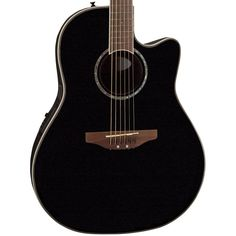 Buy Ovation Celebrity CC28 Super Shallow Acoustic Electric Guitar Black CC28-5 at ZoZoMusic.com