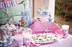 Ideas para el partido: Partido de Barbie sirena