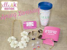 elle & k boutique Spring Giveaway!