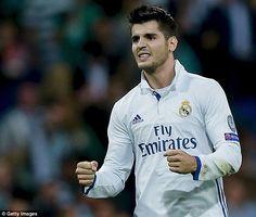 Alvaro Morata said football was an unfair game after Real Madrid beat Sporting Lisbon 2-1