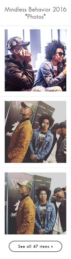 """Mindless Behavior 2016 *Photos*"" by queenswag245 ❤ liked on Polyvore"