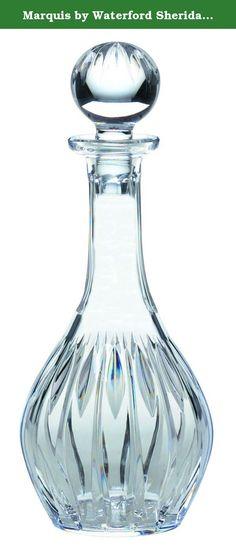 26-Ounce Reed /& Barton 10-1//2 Hamilton Full Lead Crystal Decanter