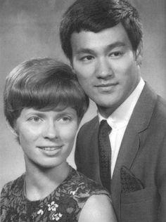 Bruce Lee & Linda Lee Cadwell.