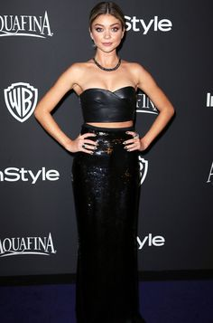 "Sarah Hyland on Her Super Hot Golden Globes After-Party Look: ""Spanx Are a Blessing, That's All I Have to Say""  #InStyle"