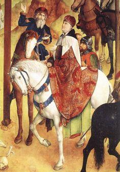Calvary Triptych (detail) : GOES, Hugo van der : Art Images : Imagiva