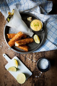 "Fish & ""Chips"" - Made by Mary"